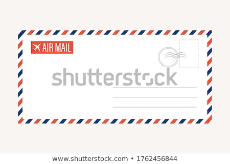 retro airmail envelope Stock photo © oblachko