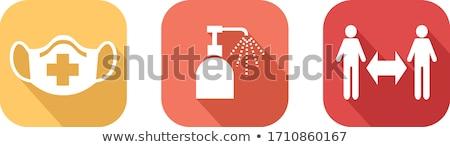 Geste · männlich · Hand · Zeigefinger · Daumen · Business - stock foto © pressmaster