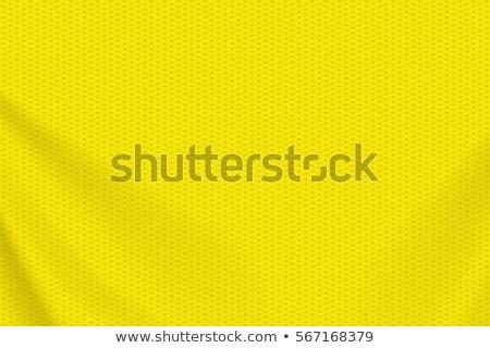 Stock photo: Yellow Jersey Mesh