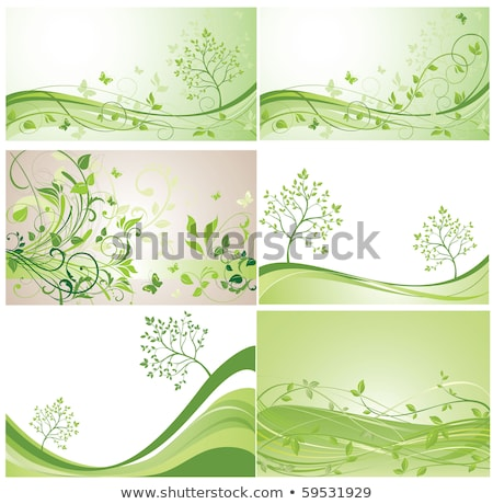 environmental background with leaf butterflies stock photo © maxmitzu