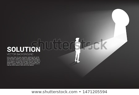 direction key hole stock photo © lightsource