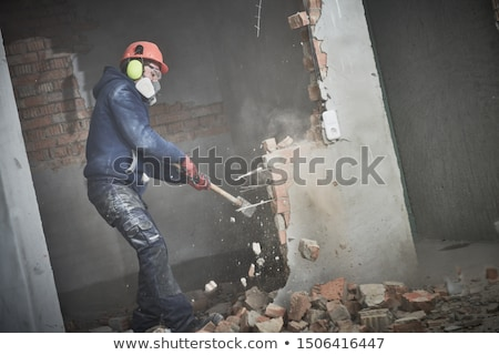 Man with a sledgehammer Stock photo © photography33
