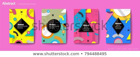 coloré · résumé · diamants · espace · de · copie - photo stock © turtleteeth