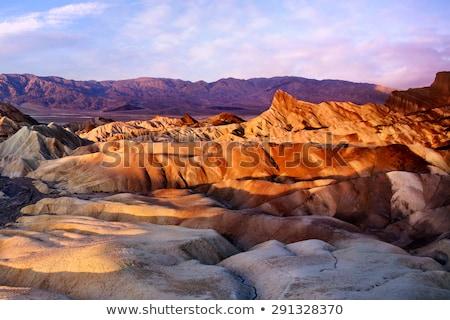 śmierci dolinie parku California USA zimą Zdjęcia stock © phbcz