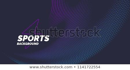 スポーツ 背景 サッカー フィールド テニス 砂 ストックフォト © Alegria111