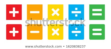 buttons set isolated on white background Stock photo © tungphoto