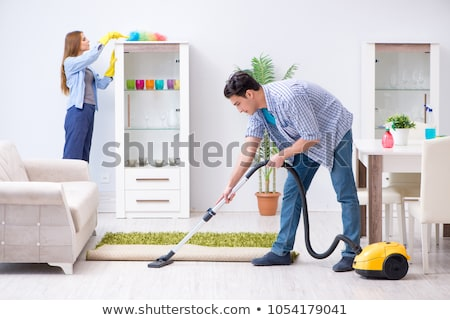 couple cleaning stock photo © ongap
