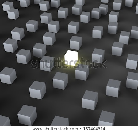 Distinct Block Shows Standing Out Stock photo © stuartmiles