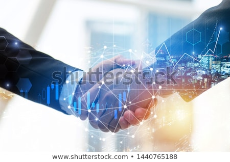 Communication Exchange Partnership Stock photo © Lightsource