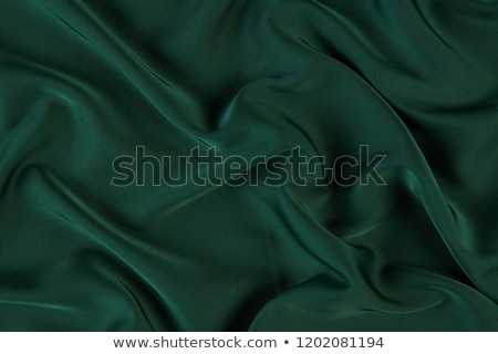 Green Satin Draping Background Stock photo © frannyanne