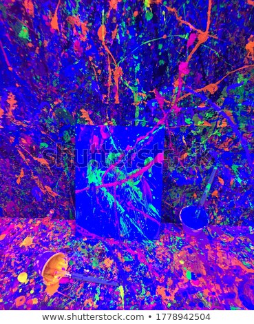 colorful glowing grunge splashes Stock photo © burakowski