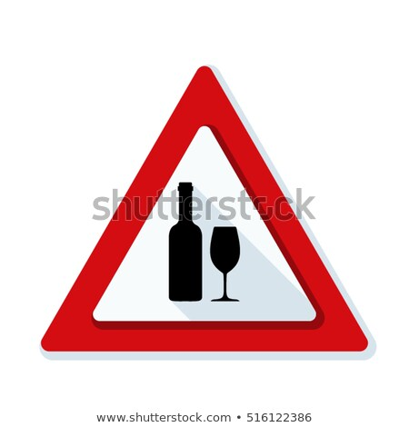 Sign alcohol limits and alcoholism Stock photo © Ustofre9