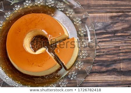 french pudding stock photo © hanusst