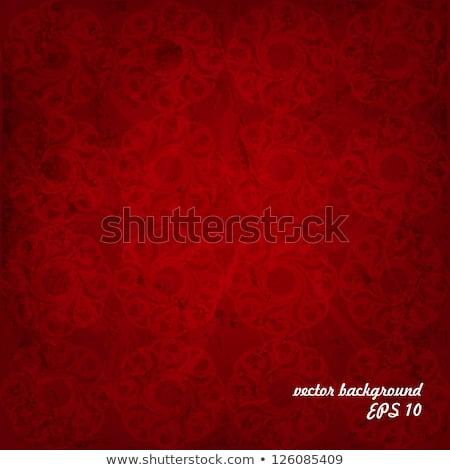 rosso · satinato · tessuto · sfondo · Natale · tessili - foto d'archivio © frannyanne