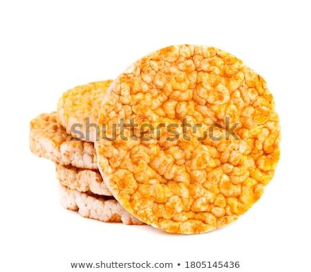 crispbread and rice crackers stock photo © m-studio
