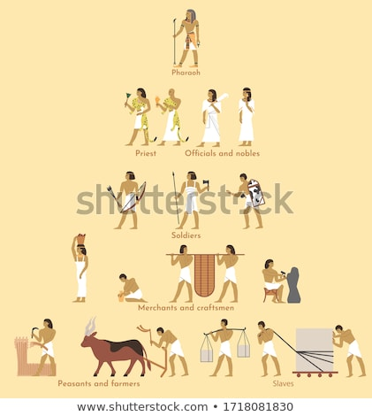 Egypt Pharaoh's Throne Stock photo © MasaMima
