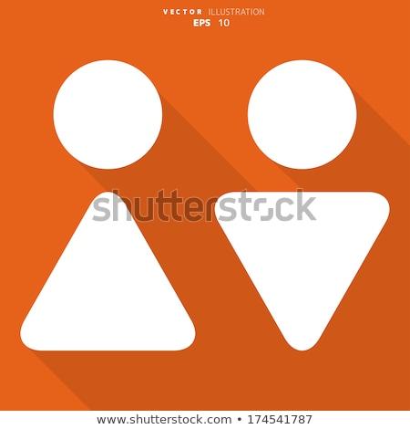 glossy male symbol Stock photo © unkreatives