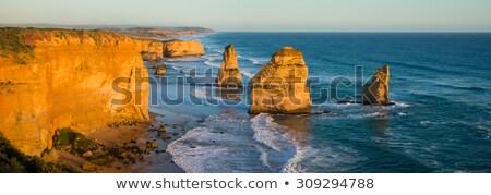 panorama · doze · África · do · Sul · Cidade · do · Cabo · praia · mar - foto stock © bradleyvdw