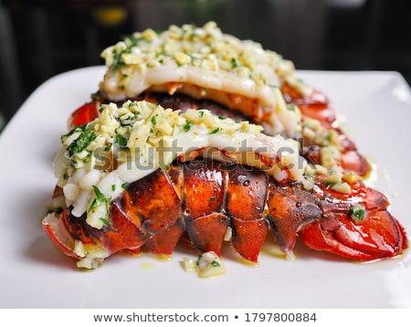 омаров хвост сырой продовольствие Сток-фото © vtupinamba
