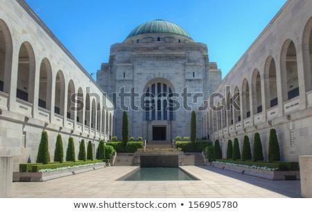Australiano guerra Canberra cúpula túmulo desconhecido Foto stock © kraskoff