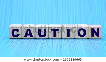 Caution notes on electronic device Stock photo © ifeelstock