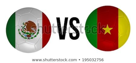 Stockfoto: Mexico · vs · Kameroen · groep · fase · wedstrijd