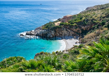 Természetes tartalék Szicília Olaszország égbolt természet Stock fotó © kubais