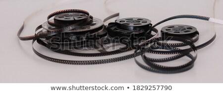 8mm film zsemle közelkép kép klasszikus Stock fotó © tiero