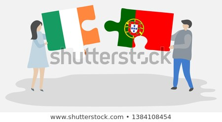 Portuguese Flag in puzzle Stock photo © Istanbul2009