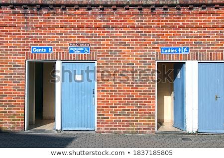 Facade of public toilets Stock photo © bmonteny