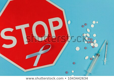 Oncology  on Red Road Sign. Stock photo © tashatuvango