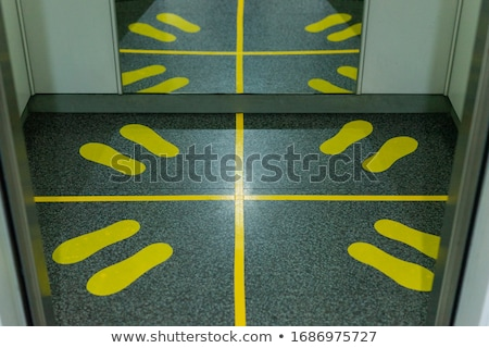 Stock photo: the blocked elevator