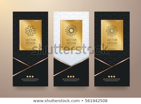 Gold and Black - Tickets Stock photo © cteconsulting