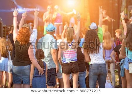 Familie concert vader koor huilen Stockfoto © tiKkraf69