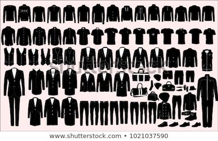 ropa · vector · hombres · blanco · negocios · moda - foto stock © Mr_Vector