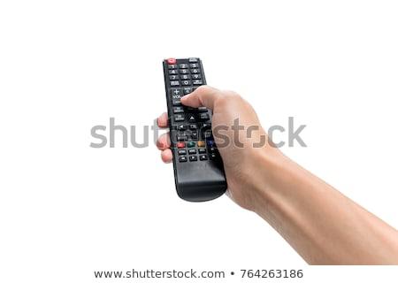 Universal controlar isolado branco televisão Foto stock © njnightsky