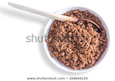Savory ground or minced beef mixture for tacos Stock photo © ozgur