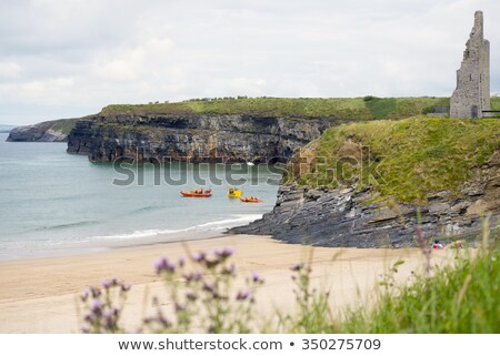 ballybunion sea and cliff rescue service at cliffs Stock photo © morrbyte