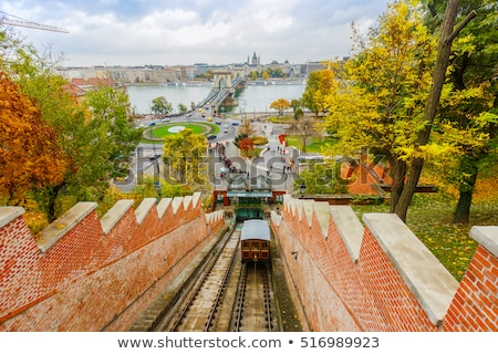 budapest castle hill funicular stock photo © andreykr