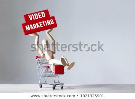 Profitto direzione giocattolo uomo d'affari lavoro sfondo Foto d'archivio © fuzzbones0