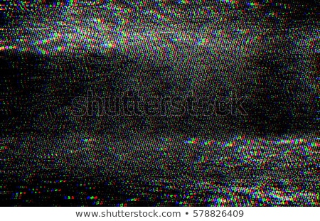 TV damage, television static noise Stock photo © stevanovicigor