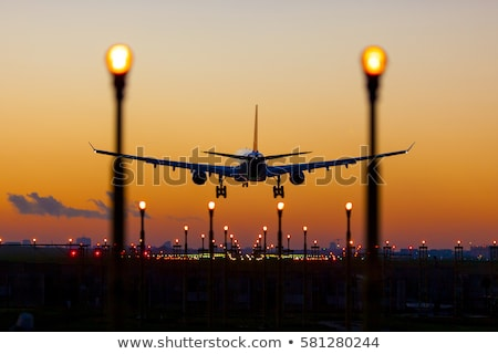 plane is flying-off Stock photo © ssuaphoto