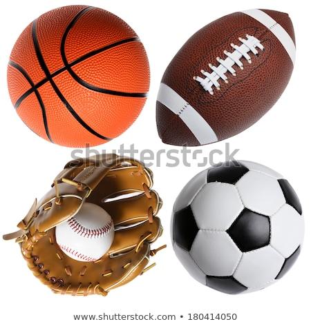 Baseball kesztyű hat profi baseball kesztyű kapcsoló Stock fotó © ClipArtMascots