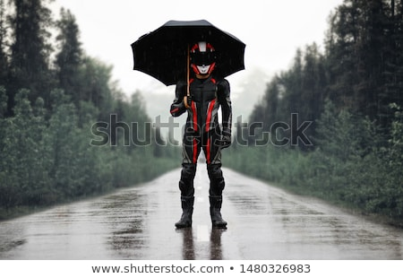 the motorcyclist Stock photo © Paha_L
