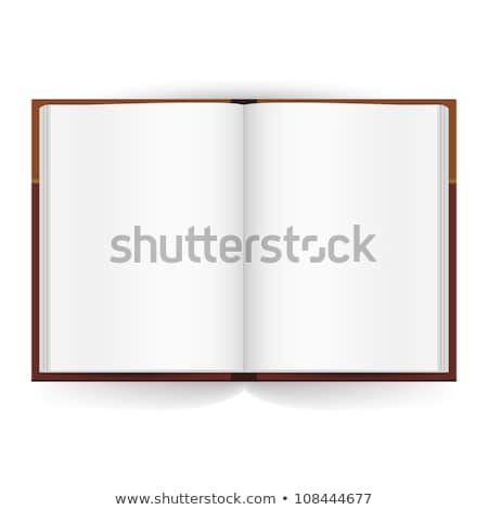 Stack of books with opened book Stock photo © Paha_L