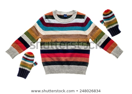 Winter pullover isolated on white Stock photo © shutswis