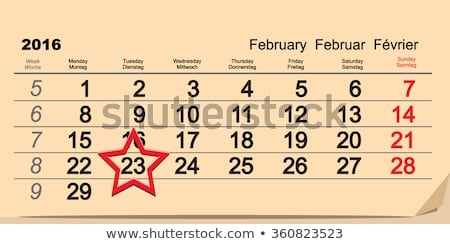 2016 February 23 russian Fatherland Day Stock photo © orensila