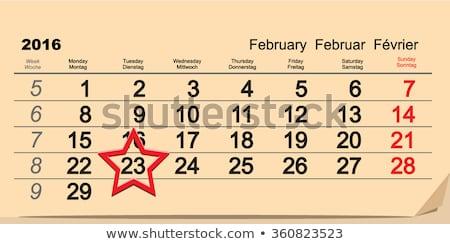 2016 february 23 russian fatherland day stock photo © orensila