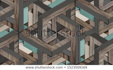 Dark Parquet 3d Seamless Floor Pattern Stock photo © Voysla