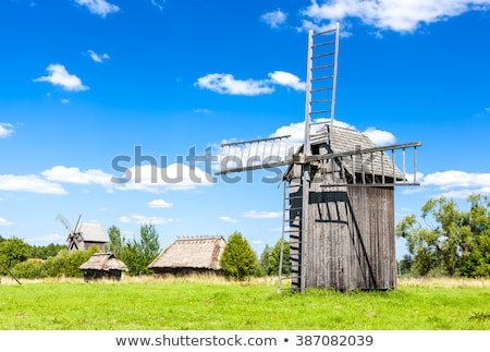 Stock photo: ethnographic park of Russian culture, Bialowieski national park,